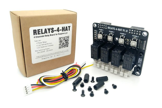 4 Channels Relay Board for Raspberry pi