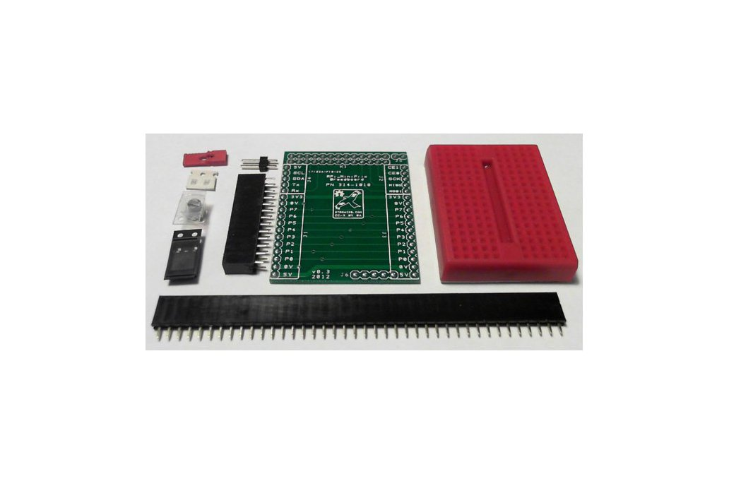 Raspberry PIIO - Breadboard add-on (Kit Only) 1