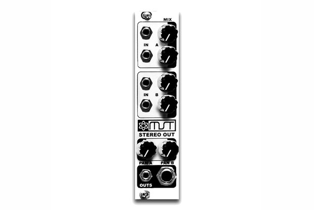 MST Stereo Output Mixer Module