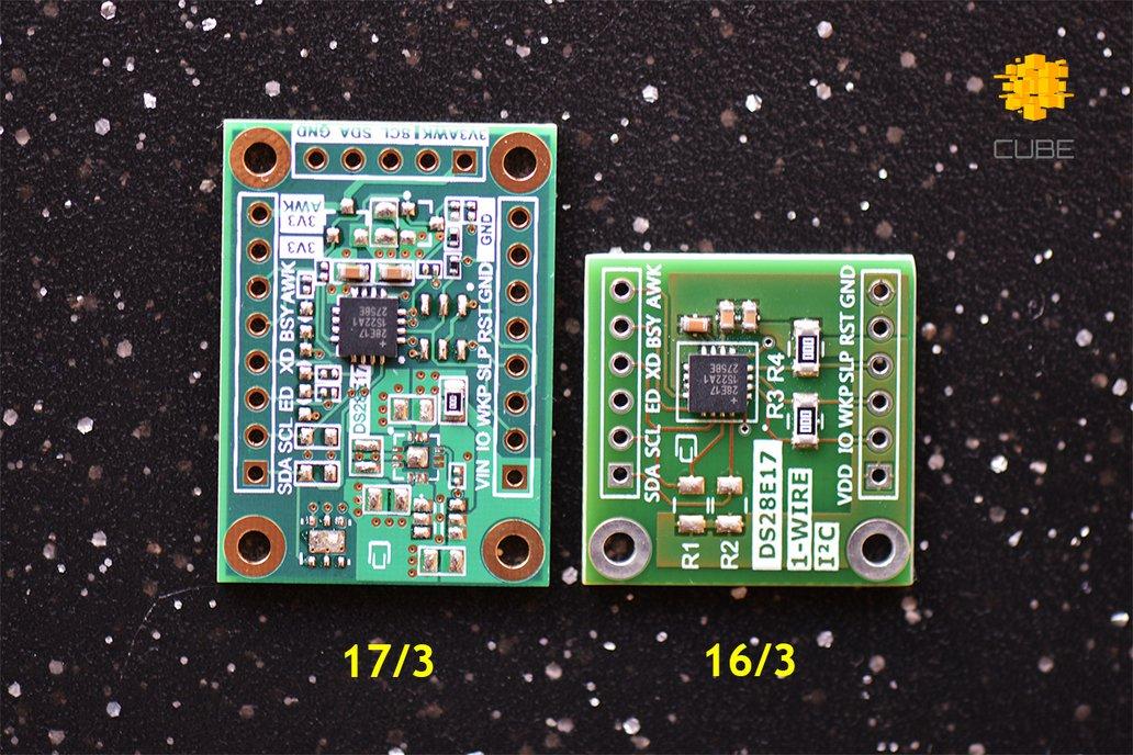 DS28E17 1-Wire to I2C Master Bridge Breakout Board 2