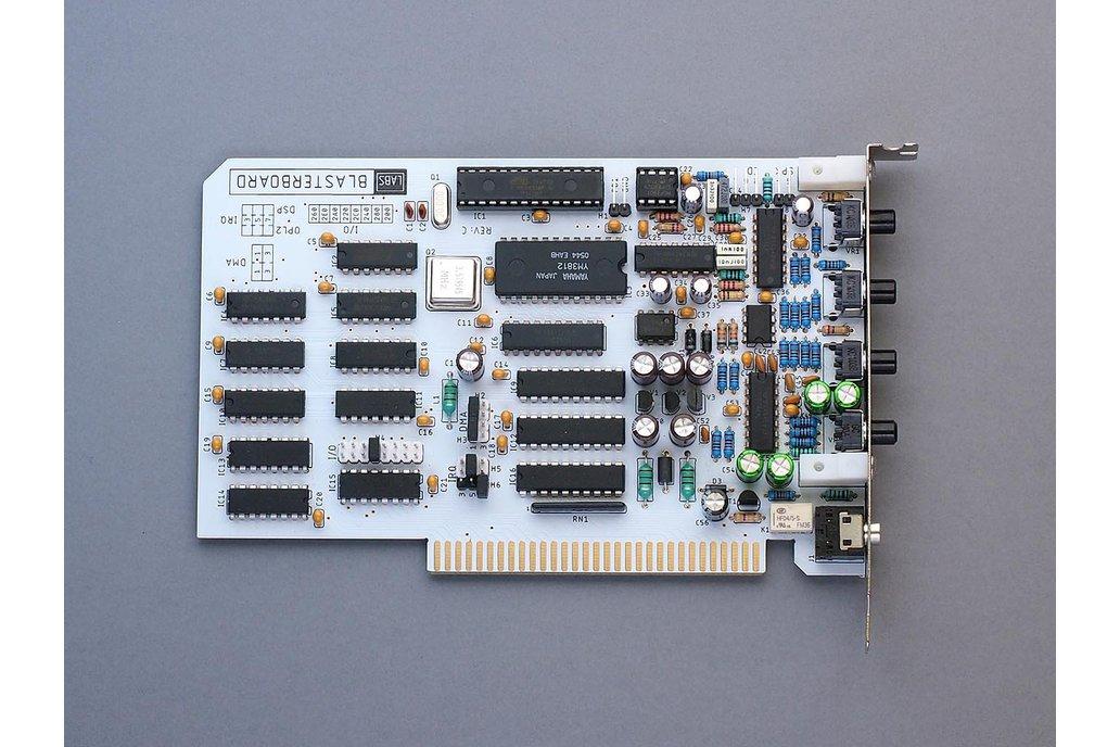 BlasterBoard - a complete 8-bit ISA sound card 1