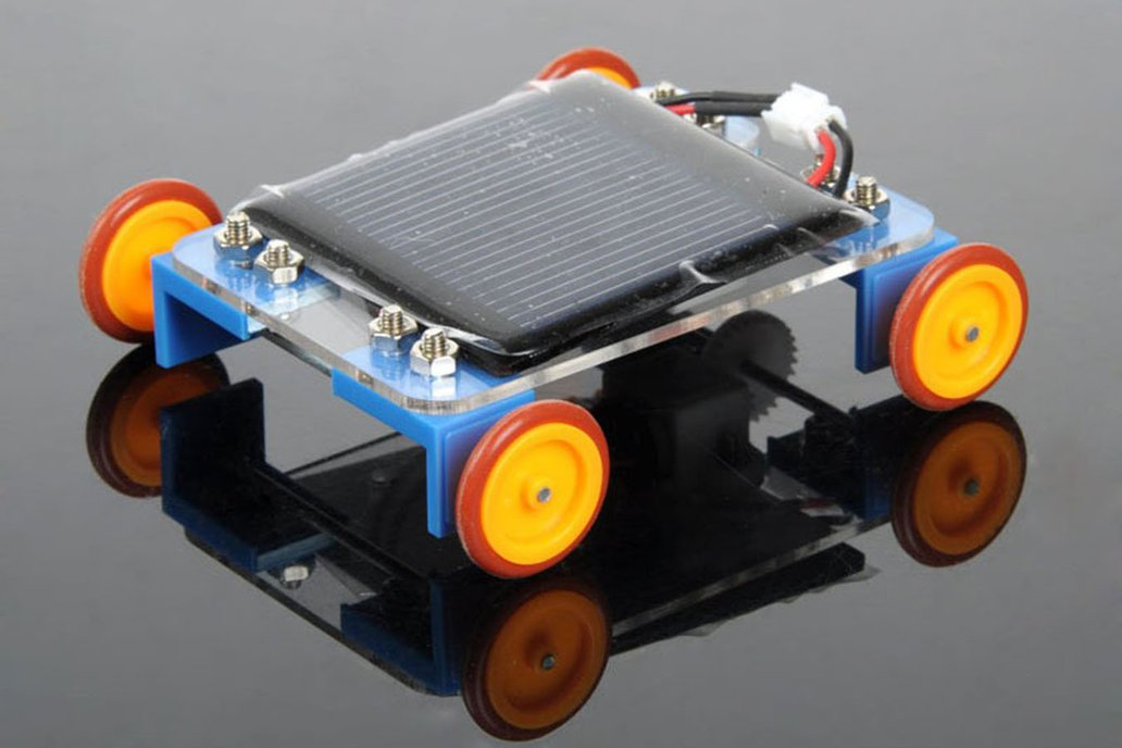 Solar Powered Toy Car Kit 13058