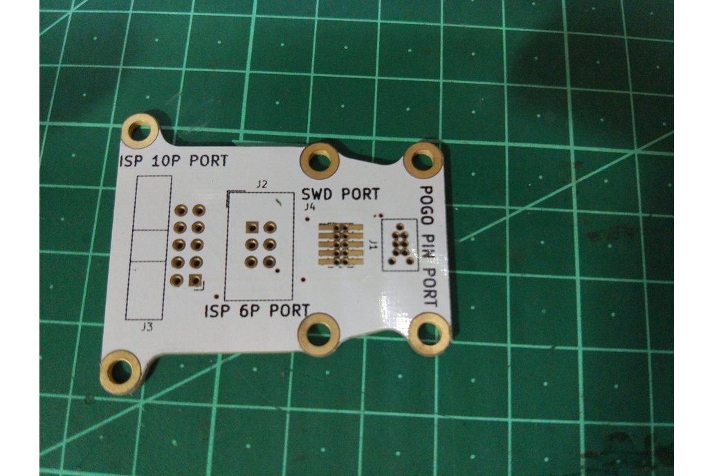 Pogo pin programmer(1.27mm 2X3P) 4