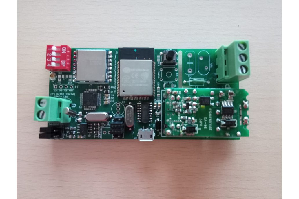 Wifi <-> RS485 <-> LoRa  Board 6