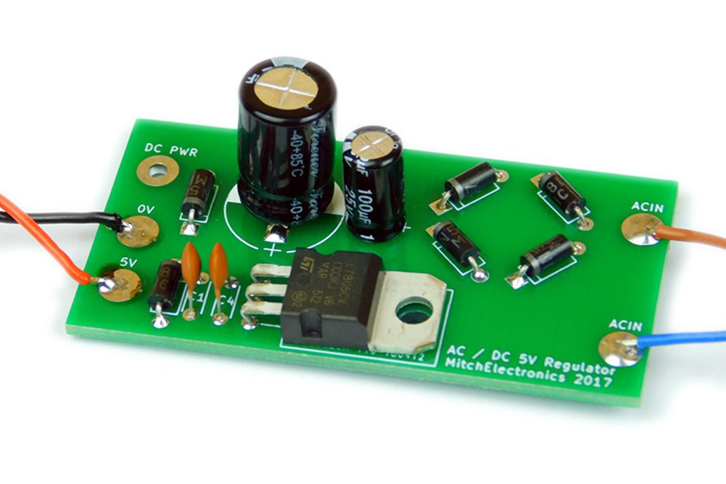 AC-DC 5V Regulator Kit 1
