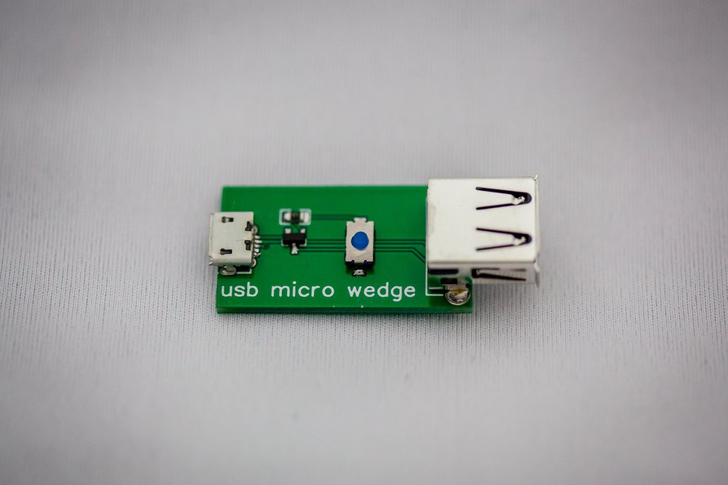 USB micro wedge - 5V interruptor 2