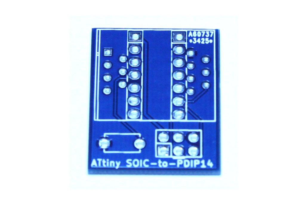 ATtiny 14pin SOIC-to-PDIP adapter 5