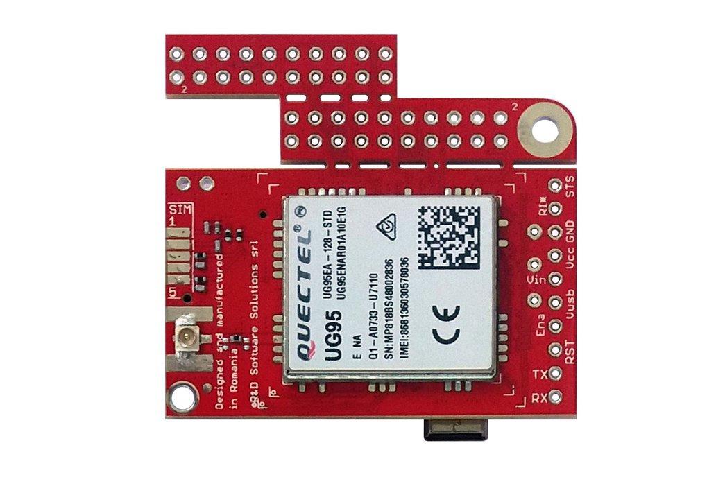 u-GSM w. UG95E - 3G, GSM EMEAA modem 1
