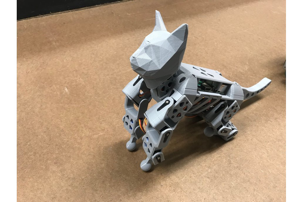 SmallKat: An dynamics oriented robot cat (Kit) 1