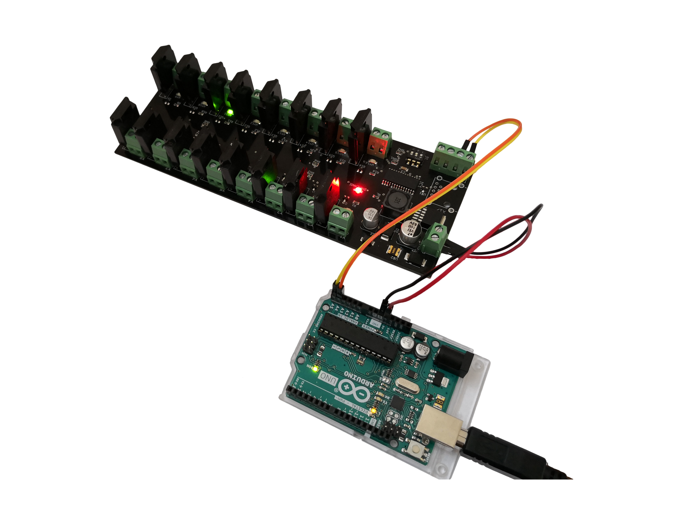 I2c 16 Channel Ssr Relay Module Board Arduino Pi From