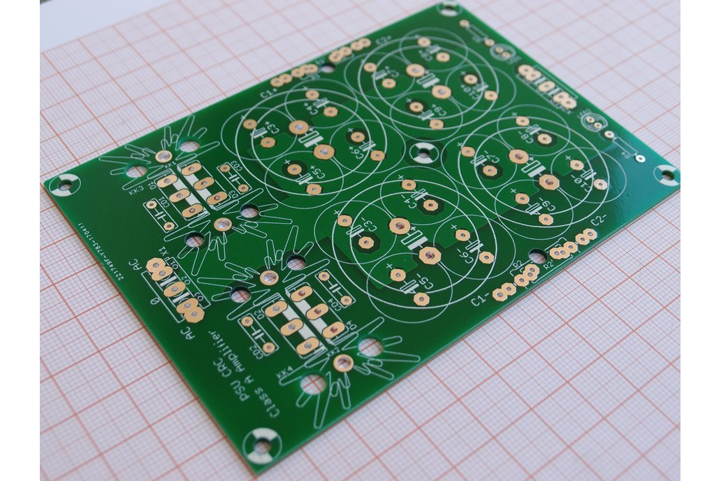 PCB CRC Power Supply for Class A Amplifiers 1