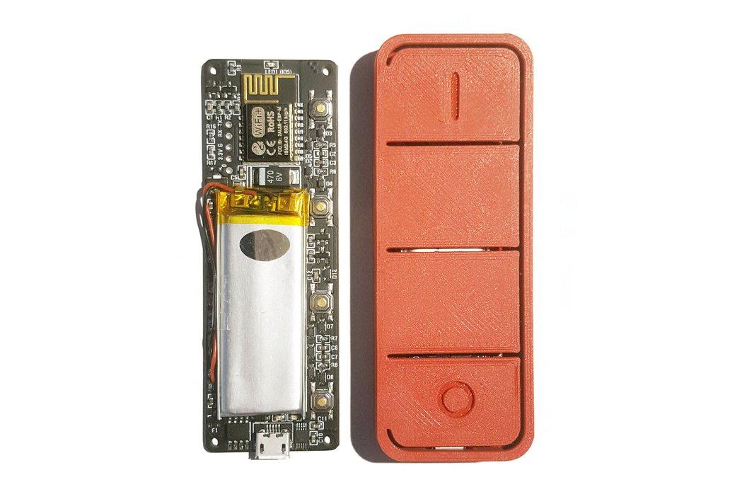 Hugo - ESP8266 4-button WiFi remote 1