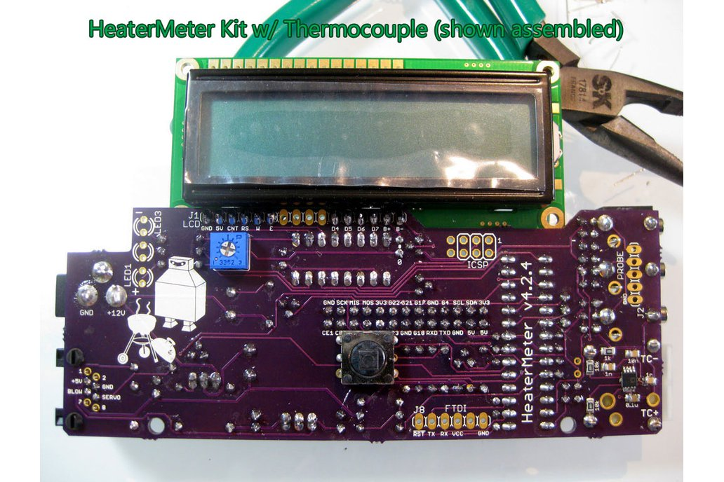 HeaterMeter v4 2 Thermocouple PCB