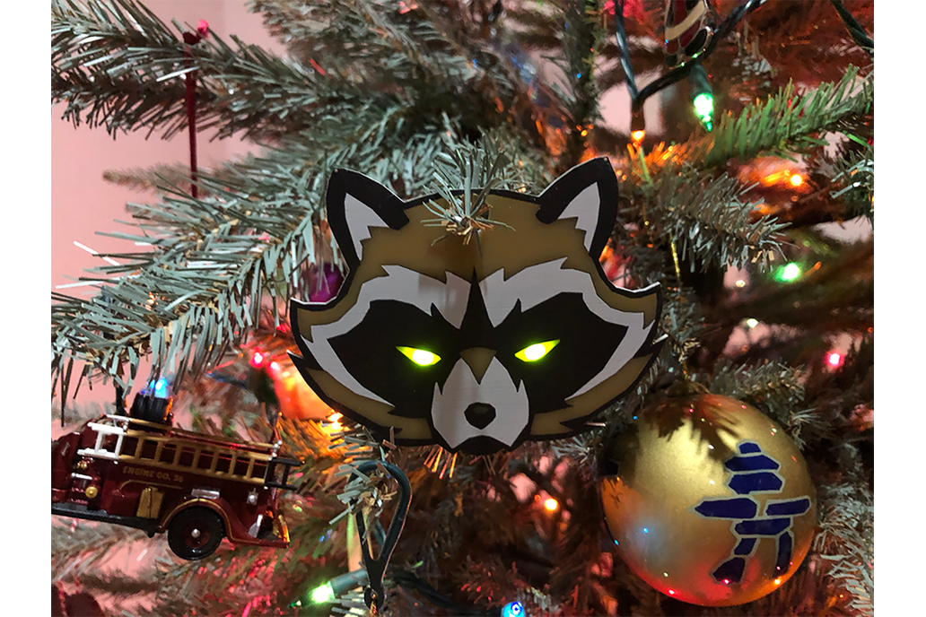 BadgeLife Trash Panda Kit - Holiday Edition 1