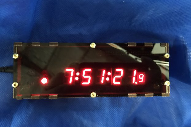Raspberry Pi Zero Clock