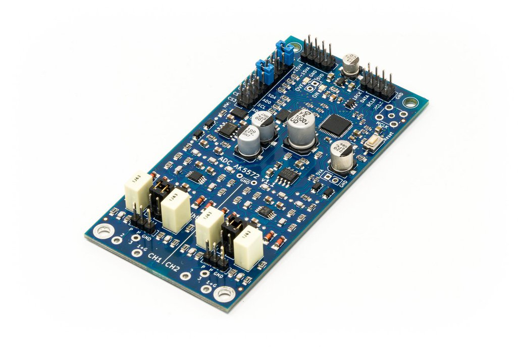 ADC AK5572 - High performance audio AD-converter 1