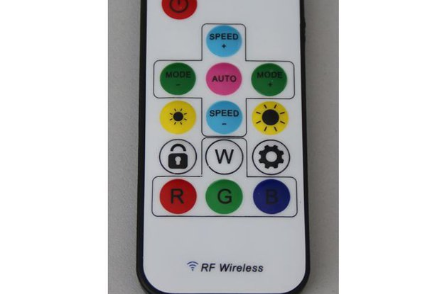 RF LED Controller for WS2811, WS2812
