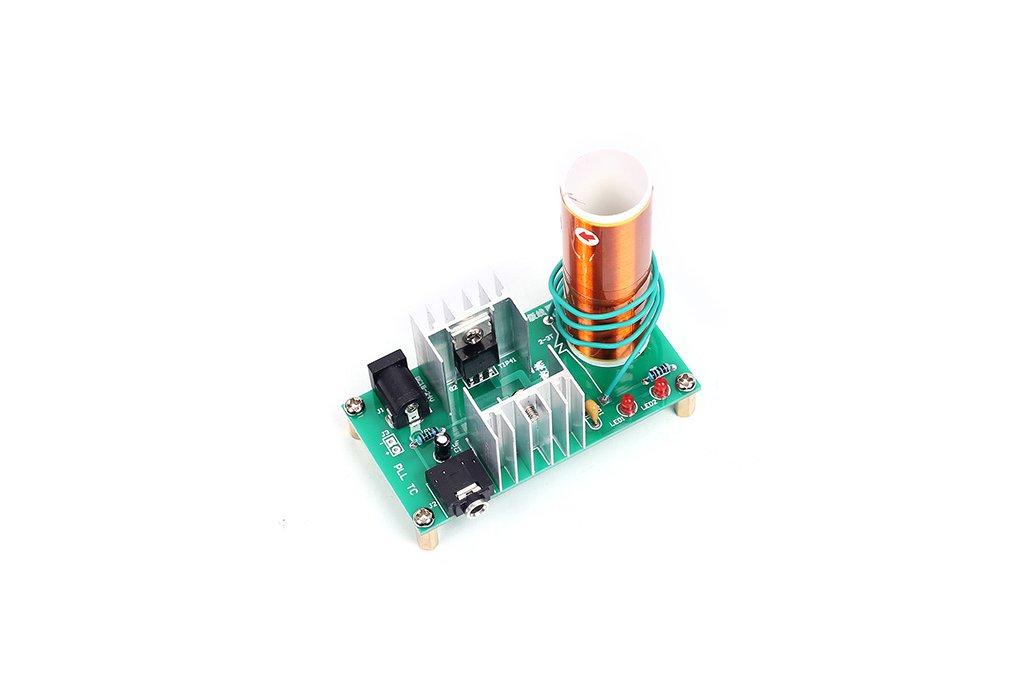 Mini Tesla Coil Plasma Arc Speaker DIY Kit (13034) 5