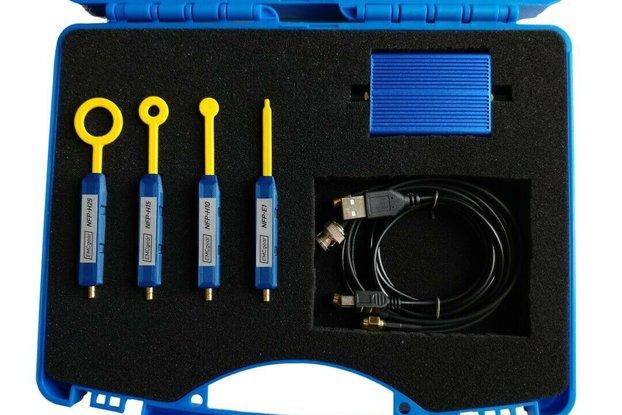 Near field probe set inc. RF amplifier, up to 3GHz