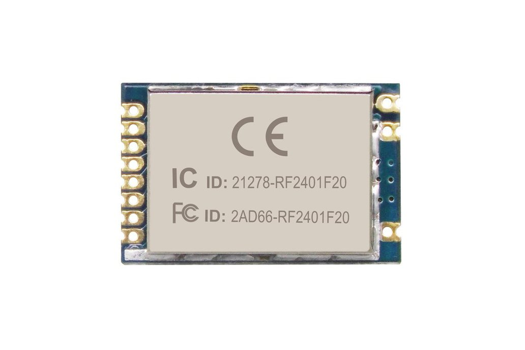 2pcs RF2401F20 2.4G Wireless Transceiver Module 1