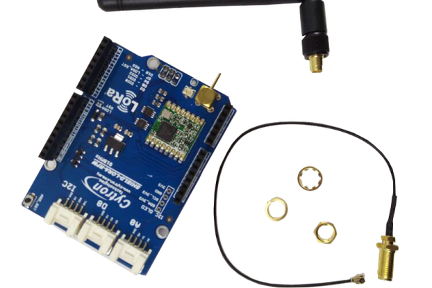 Lora Shield-Long distance wireless 433/868/915Mhz from