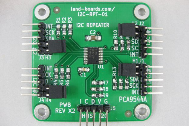 4-Channel I2C Multiplexer (I2C-RPT-01)