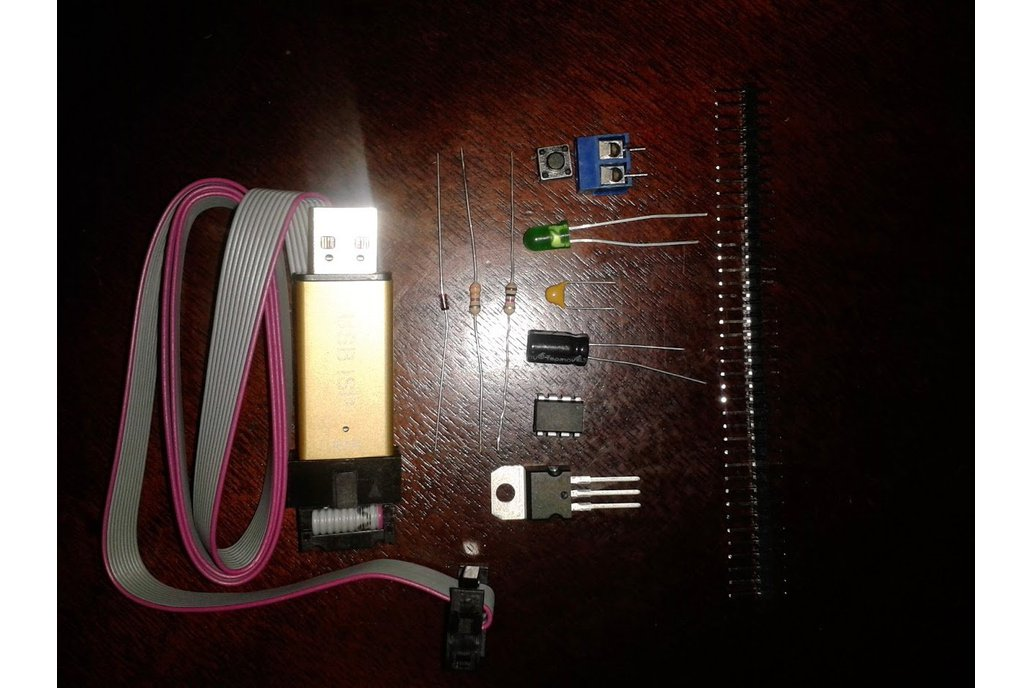USBasp Atmel ICSP programmer. (USBisp). 1