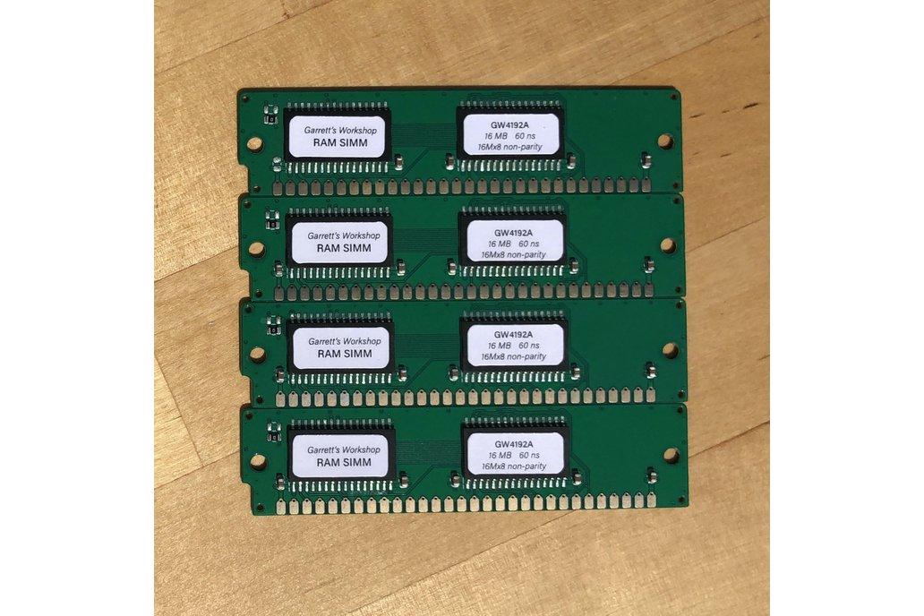 GW4192A -- 4x 16 MB 30-pin RAM SIMM (64 MB kit) 1