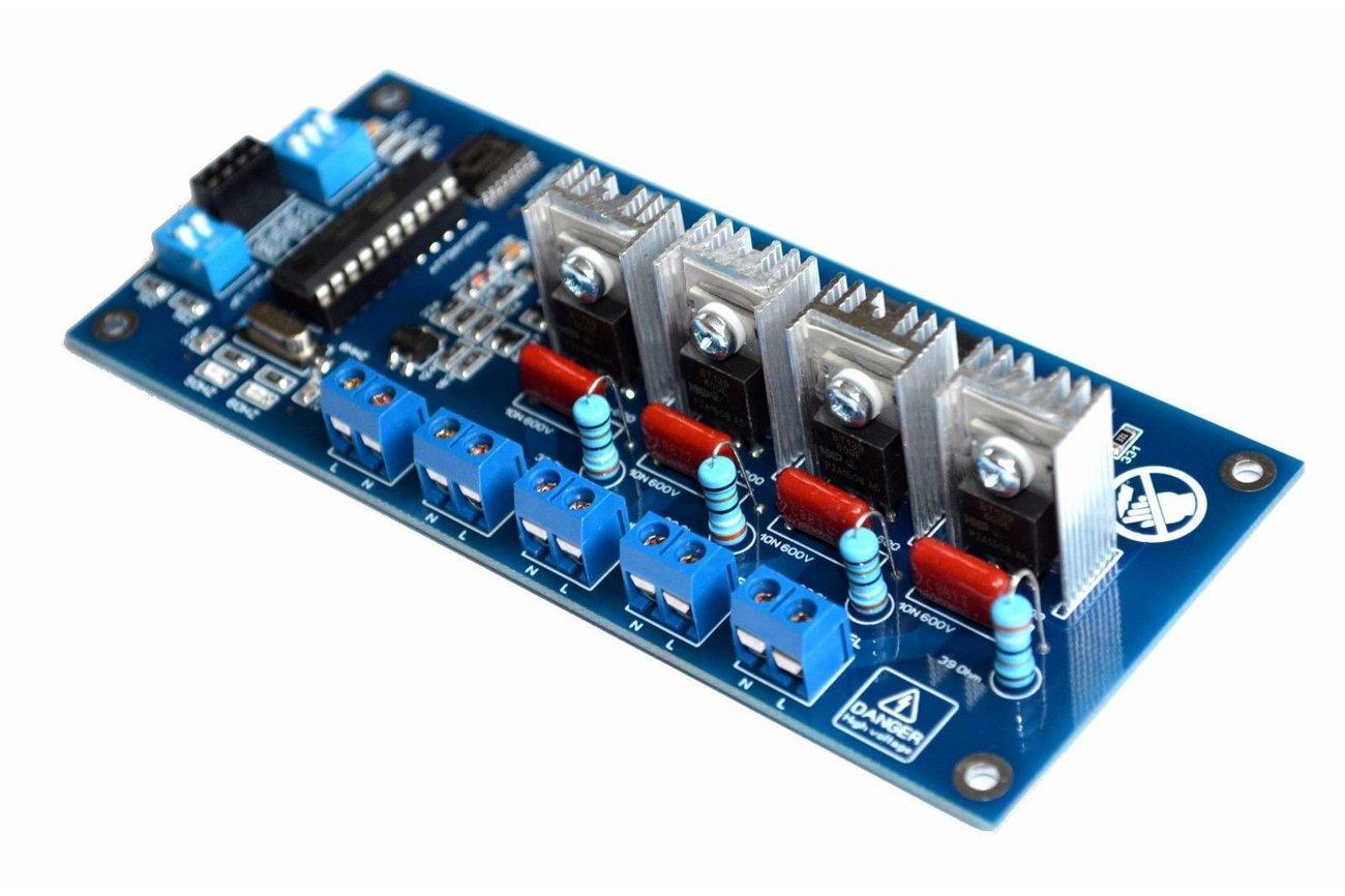 I2C 4CH AC LED Dimmer Module