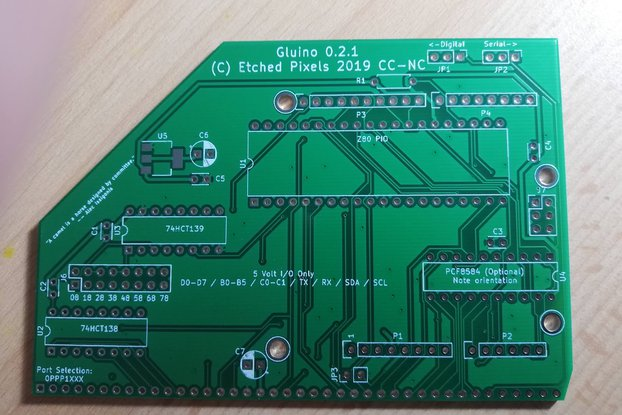(PCB Only) Gluino for RC2014™