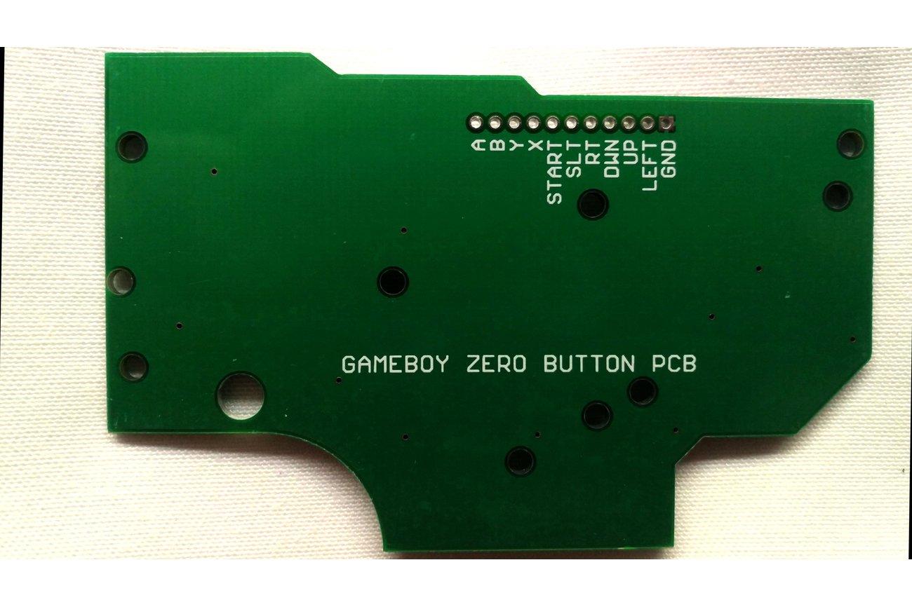 Game Boy DMG Button PCB Gold Zero Pi RetroPie