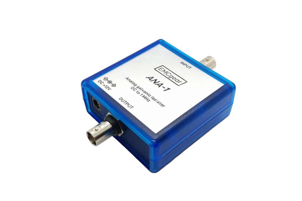 Analog isolator - DC to 1 MHz, BNC, 4,2kV 1