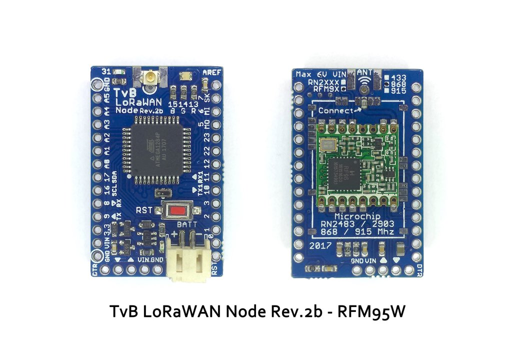 TvB LoRaWAN Node Rev.2b 6