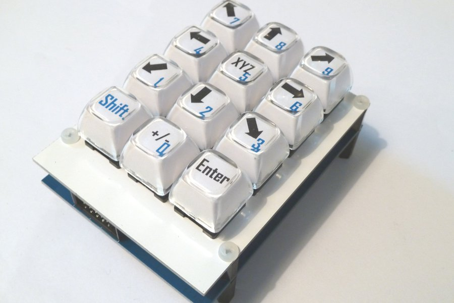Customizable Keyboard shield with long stroke keys