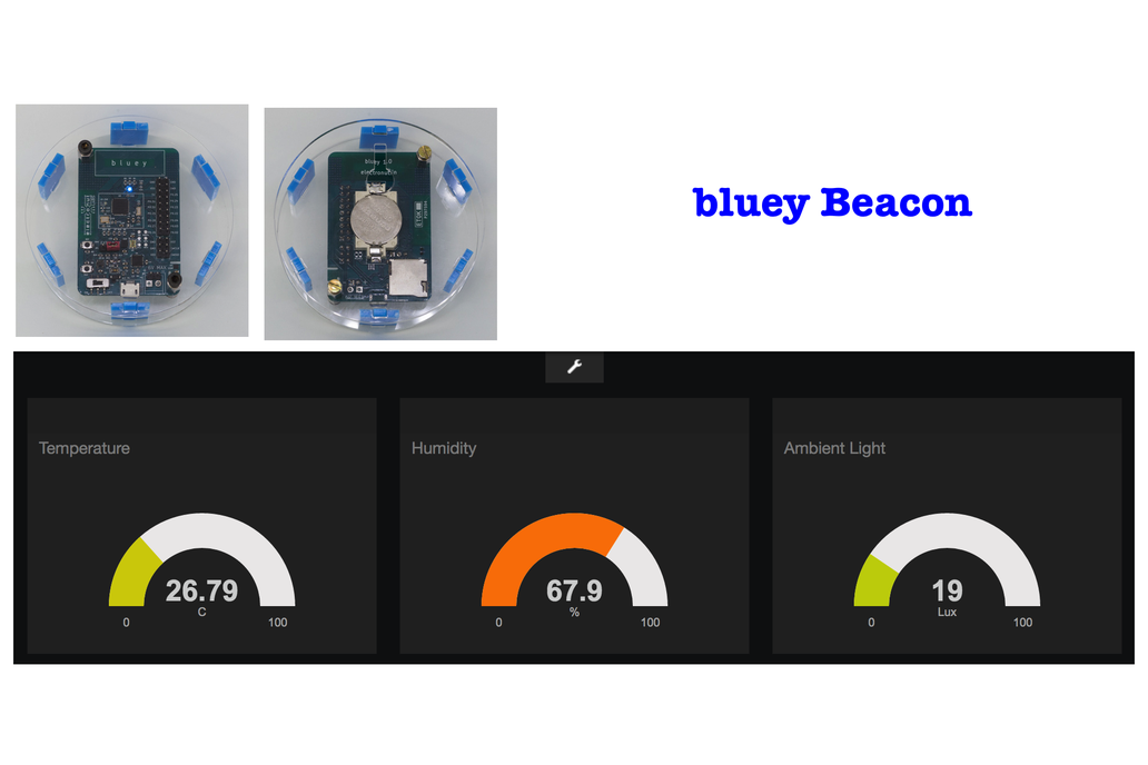 Bluey nRF52832 BLE development board 5