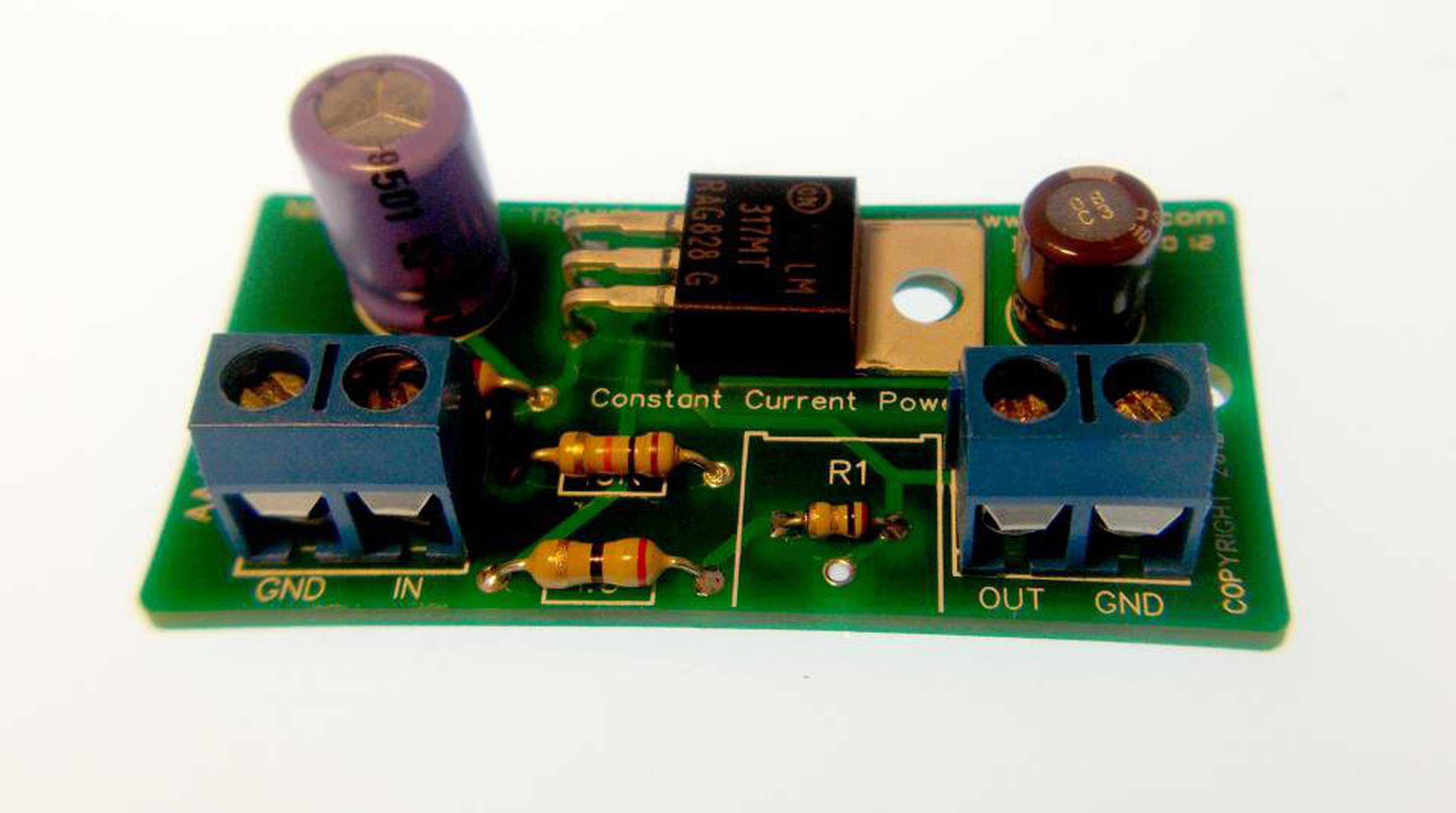 Constant Current Battery Charger Kit From Nightfire Electronics Llc Nicd Uses Leds 1