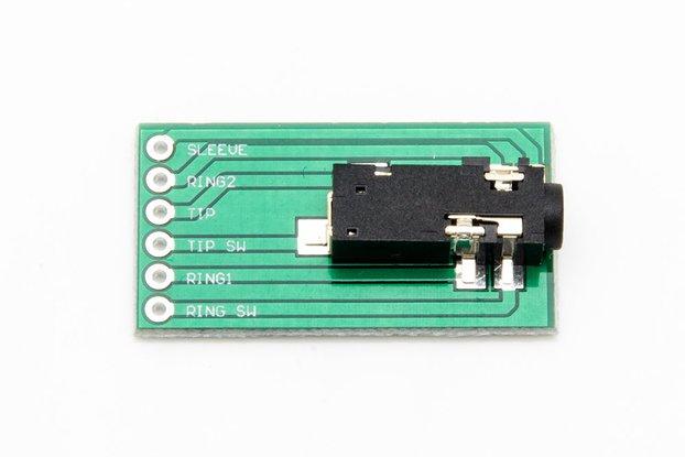 3.5 MM TRRS Audio Jack - SJ-43516-SMT-TR