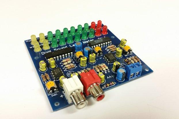 Sound Level Meter Kit - 2-Channel