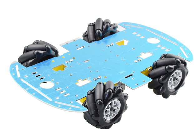 Mecanum Wheel Omni-directional Robot Car Chassis