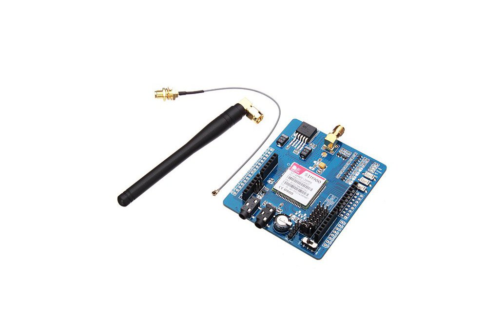 GSM/GPRS SIM900 Module ICOMSAT Expansion Board With Antenna Cable 1