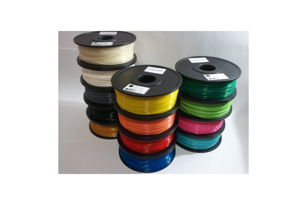 PLA 3D Filament (1.75 mm, 1 kg), 12+ colors! 1