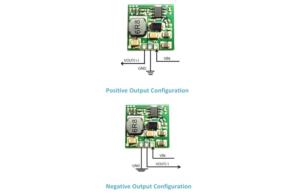 2A Positive/Negative Output Step Down Power Module 2