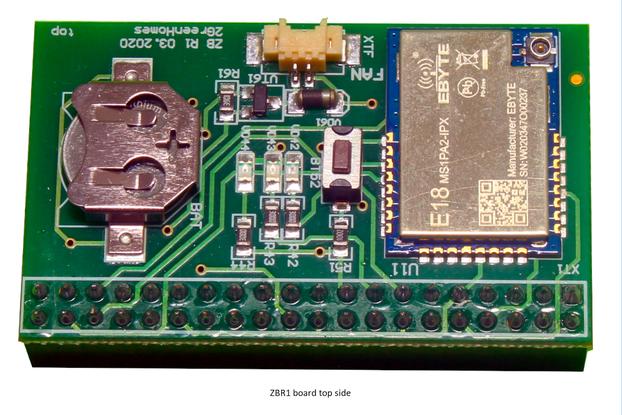 ZBR1 – Zigbee board for Raspberry Pi