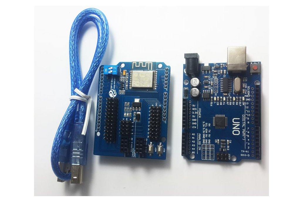 ESP8266 Wireless WiFi Shield for Arduino UNO R3 1