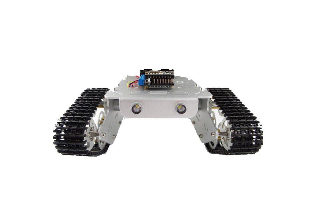 NodeMCU WiFi RC Metal Robot Tank Chassis T300 1