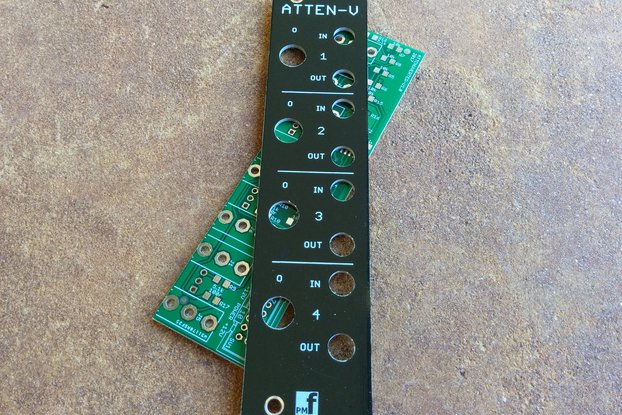 Attenuverter (Eurorack PCB Set)