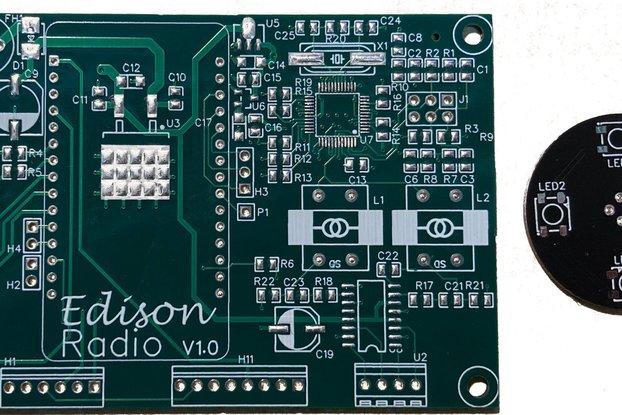 EDISON Radio PCB Set