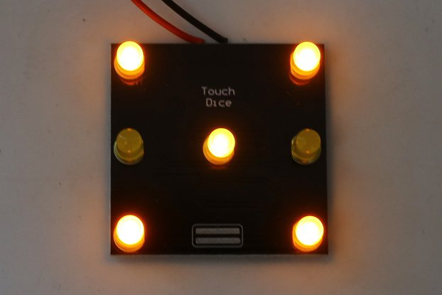 DIY Kit Touch Control Dice_GY17781