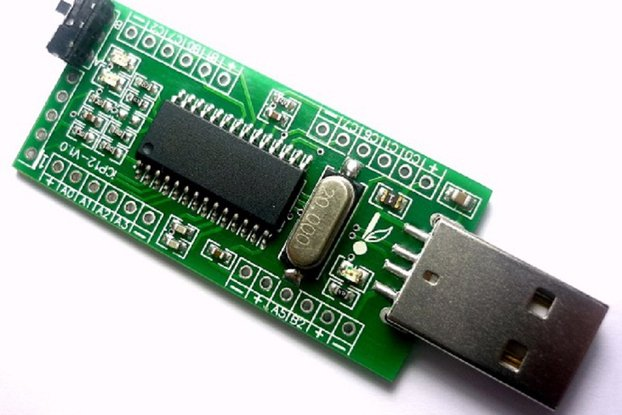 iCP12 (1mV) - usbStick (6 Ch. USB Oscilloscope)