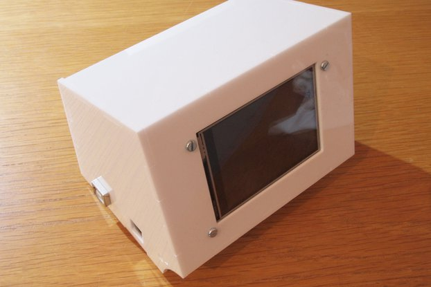 Case Enclosure for PiTft 2.8
